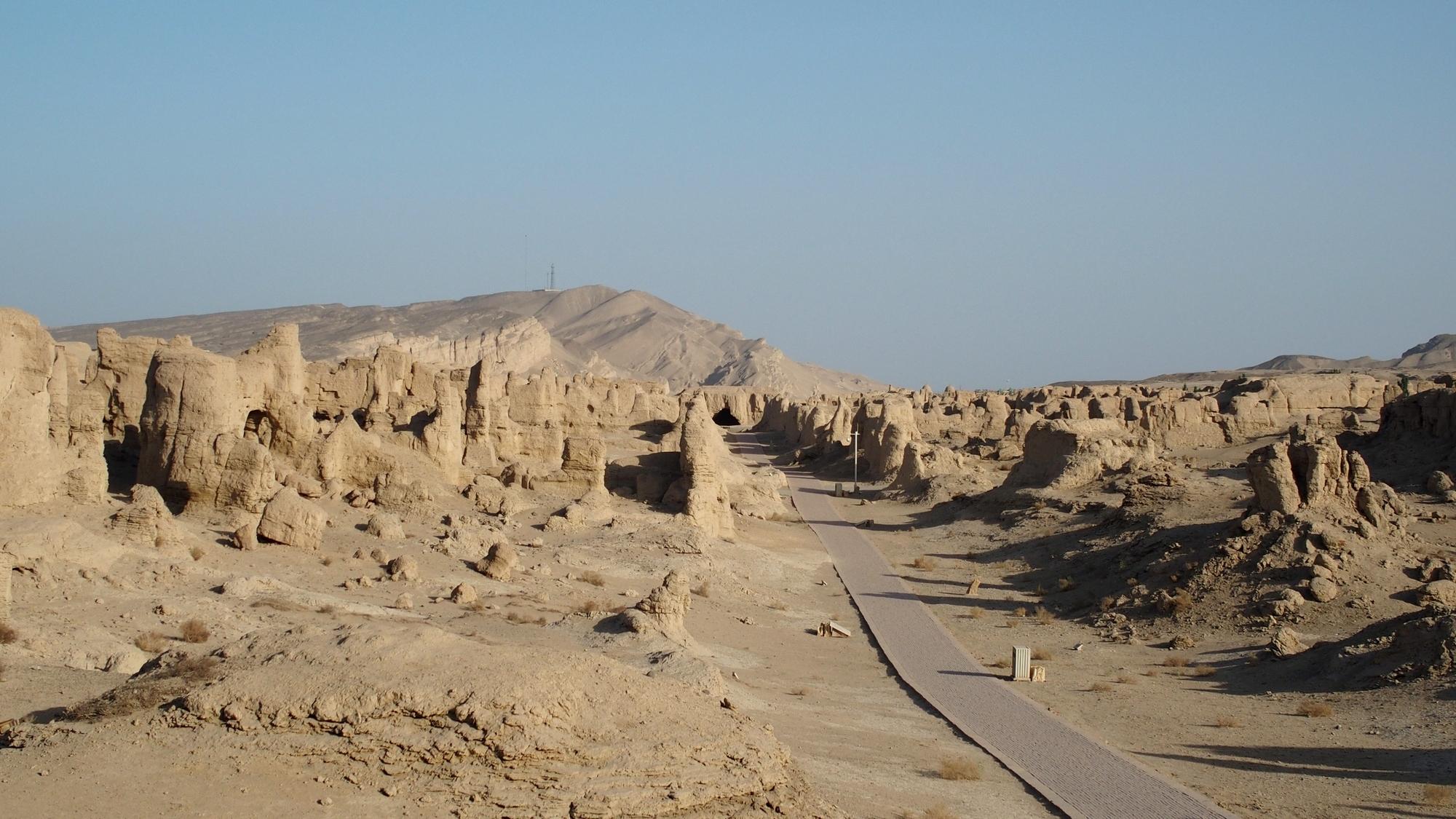 ruiny miasta Jiahoe